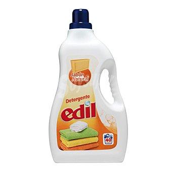 Edil Detergente líquido jabón natural 40 lavados