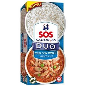 Sos dúo atún con tomate y arroz blanco pack-2 Sabores bandeja 125 g pack-2 bandeja 125 g