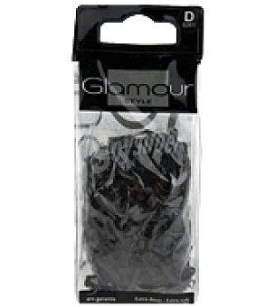 Glamour Gomas de caucho negro 1 ud