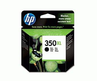 HP Cartuchos de Tinta 350XL Negro 1 Unidad