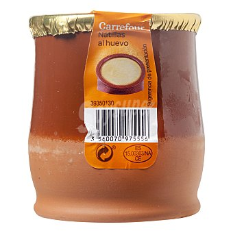 Carrefour Natillas al huevo - Sin Gluten 140 g