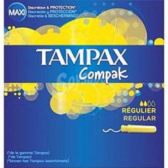 Tampax Tampón compacto regular 20+2 unidades