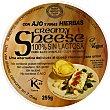 Queso para untar sabor ajo y finas hierbas 100% sin lactosa envase 255 g Envase 255 g SHEESE Creamy