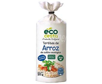 Ecocesta Tortitas de arroz ecológicas 140 g