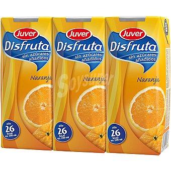 Juver-Disfruta Néctar de naranja Pack 3 envase 330 ml