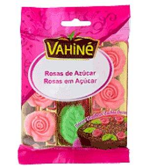 Vahine Rosas hojas azúcar Envase de 12ud