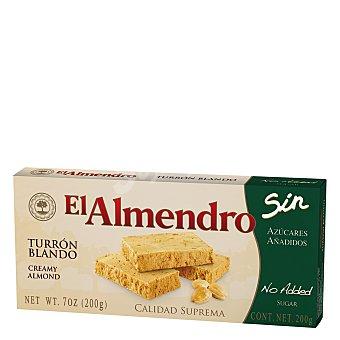 El Almendro Turrón blando sin azúcares 200 g
