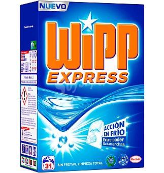 Wipp Express Detergente polvo azul 31 lavados