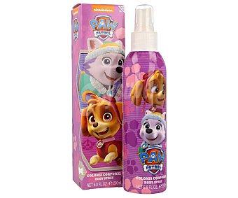 Nickelodeon Colonia corporal en spray, de la patrulla canina 200 ml