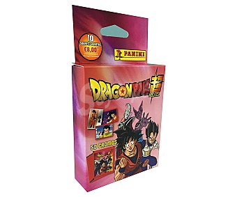 Dragon Ball Pack de 10 sobres de cromos Super, dragon ball.