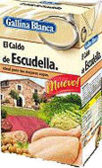 Gallina Blanca Caldo casero de pollo Brik 1 litro + 10%