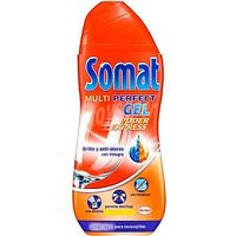 Somat Lavavajillas máquina gel vinagre Botella 40 dosis