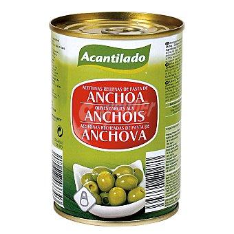 ACANTILADO Aceitunas rellenas de anchoas Lata 120 gr