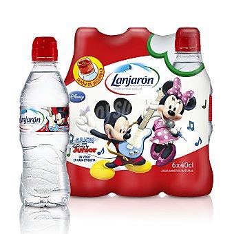 Lanjarón Agua mineral Pack 6 Unidades de 40 Centilitros