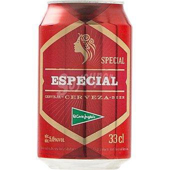 El Corte Inglés Cerveza rubia Especial lata 33 cl Lata 33 cl