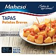 Patatas bravas para microondas salsa incluida Estuche 420 g Maheso