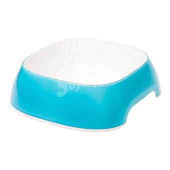 Ferplast Comedero para mascotas color azul capacidad medidas 20x18,5x6 cm 1 unidad 0,75 l