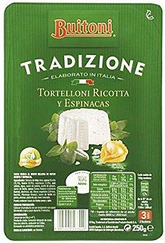 Buitoni Pasta Fresca Tradizione Tortelloni Ricotta y Espinacas 250g