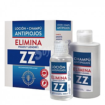 Loción + champú antipiojos ZZ 225 ml 225 ml