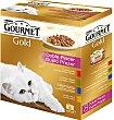 Comida gato doble placer 8X 85 G Purina Gourmet