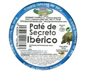 Sierra de Cazorla Paté de secreto Ibérico 225 Gramos