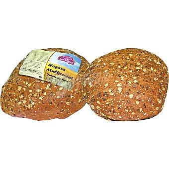 SAN DIEGO Hogaza multicereal de harina de trigo integral y semillas Envase 500 g