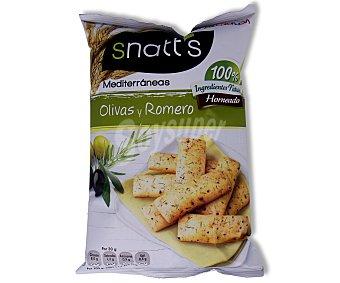Snatt's Grefusa Palitos de olivas y romero mediterráneas Bolsa 110 g
