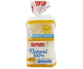 Bimbo Pan de Molde Sin Corteza Natural 100% 450g