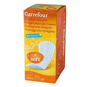 Carrefour Protege-slip plegado 30 ud
