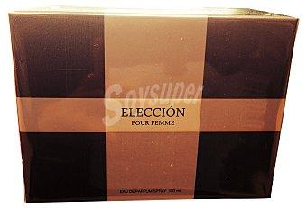 ELECCION Eau toilette mujer  Botella de 100 cc