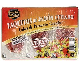 Sanchez Alcaraz Taquitos de jamón curado 3 x 40 g