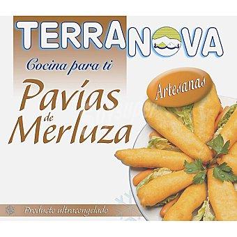 Terranova Pavías de merluza artesanas Bolsa 400 g
