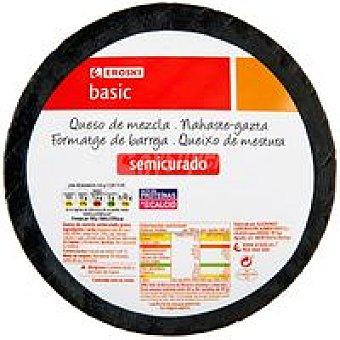 Eroski Basic Queso mezcla semicurado 250 g