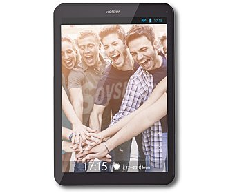 WOLDER IOWA Tablets con pantalla de 7,85'' BIG button, procesador: Quad Core 1.3GHz, Ram: 1GB, almacenamiento: 8GB ampliable mediante microsd, resolución: 1024x768px, cámara frontal, wifi, Android 4.4