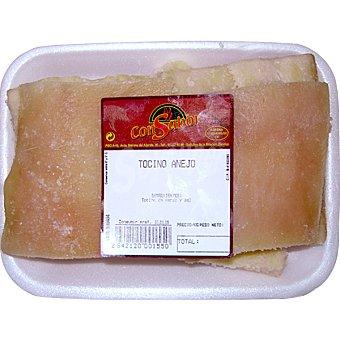 CONSABOR Tocino añejo de cerdo peso aproximado Bandeja 300 g