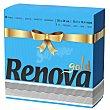 Servilleta 2 capas renova gold - Azul 40 ud Renova
