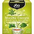 Matcha Energía infusión de té verde, matcha y menta piperita  estuche 12 bolsitas Yogi Tea