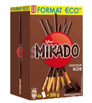 Mikado Mikado con chocolate Pack de 4x75 g