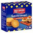 Tostadas canapé redondas Caja 110 g Recondo