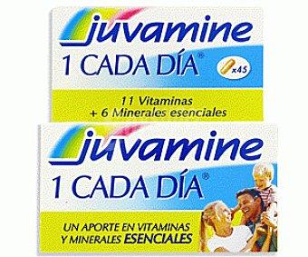 Juvamine Vitaminas 1 cada Día 45c