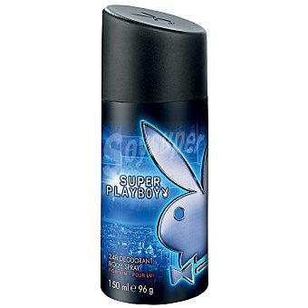 SUPER PLAYBOY Desodorante masculino 24h spray 150 ml Spray 150 ml