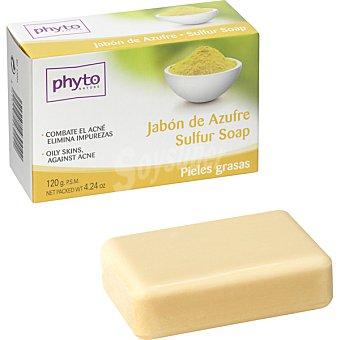 Luxana Phyto Nature Pastilla de jabón de Azufre combate el acné y elimina impurezas para pieles grasas Pastilla 120 g