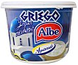 Yogur griego cremoso natural azucarado, elaborado sin gluten 500 g Albe