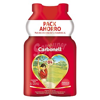 Carbonell Aceite de oliva 0,4 Pack 2x1 l