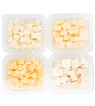 Abrilisto Dados de queso 4 bandejas de 50 gr.
