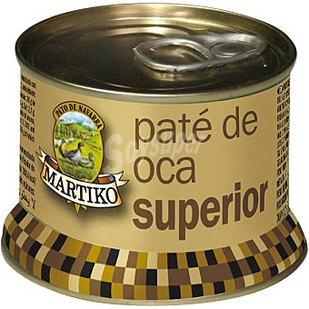 Martiko Paté de hígado de oca Lata 130 g