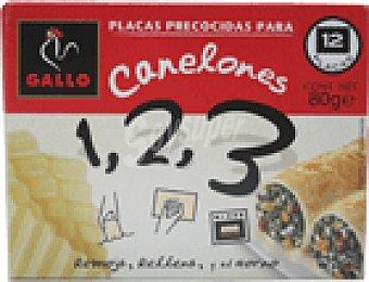 Gallo Canelones precocidos 80 GRS