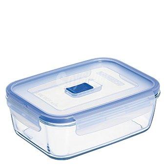 Luminarc Recipiente Hermetico Rectangular de Cristal Pure Box Active 0,197 L. - Transparente 1 ud