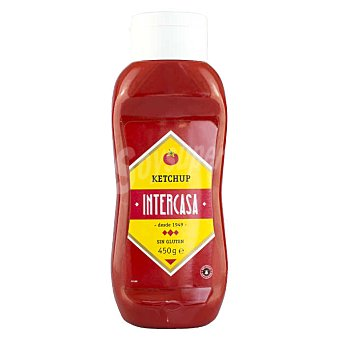 Intercasa ketchup envase 450 g