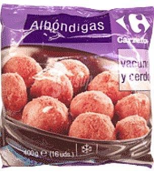 Carrefour Albóndigas de vacuno y cerdo 400 g